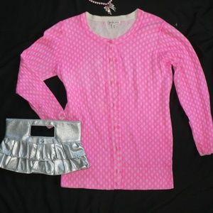 "Merona ""Barbie Lolita"" Sweater Top SM Hot Pink"